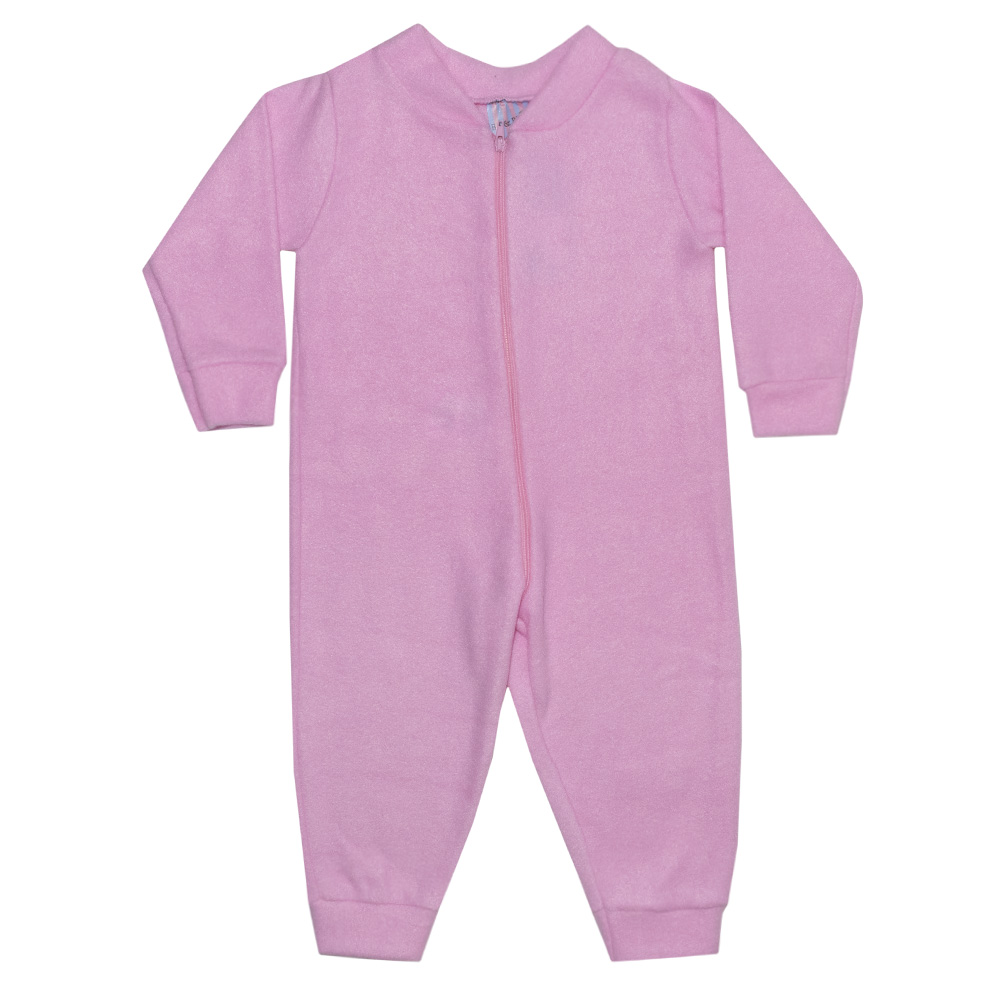 Macacão Bebê Soft Chiclete  - Jeito Infantil