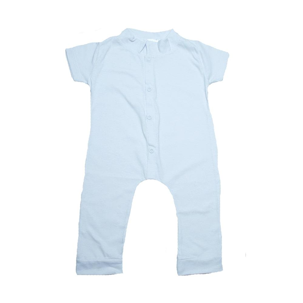 Macaquinho Bebê  Branco  - Jeito Infantil