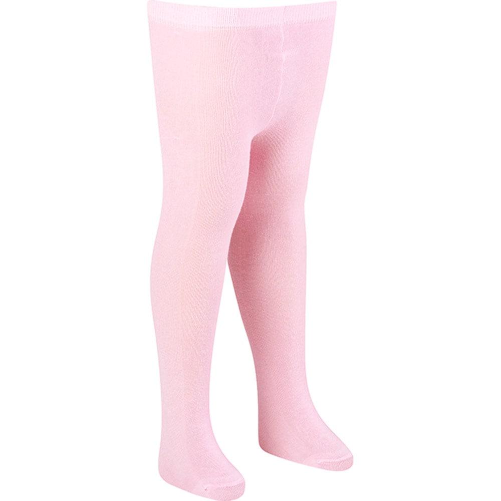 Meia Calça Infantil Rosa  - Jeito Infantil