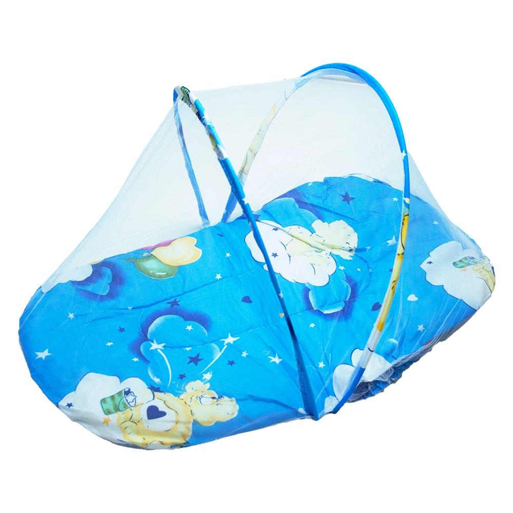Mosqueteiro Portátil Bebê Azul  - Jeito Infantil