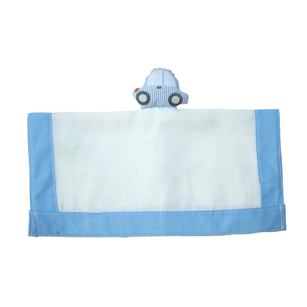 Naninha Bebê Carrinho Azul  - Jeito Infantil