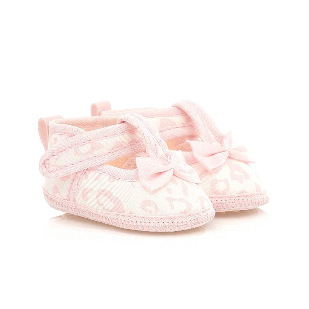 Sapatilha Bebê Oncinha Rosa  - Jeito Infantil