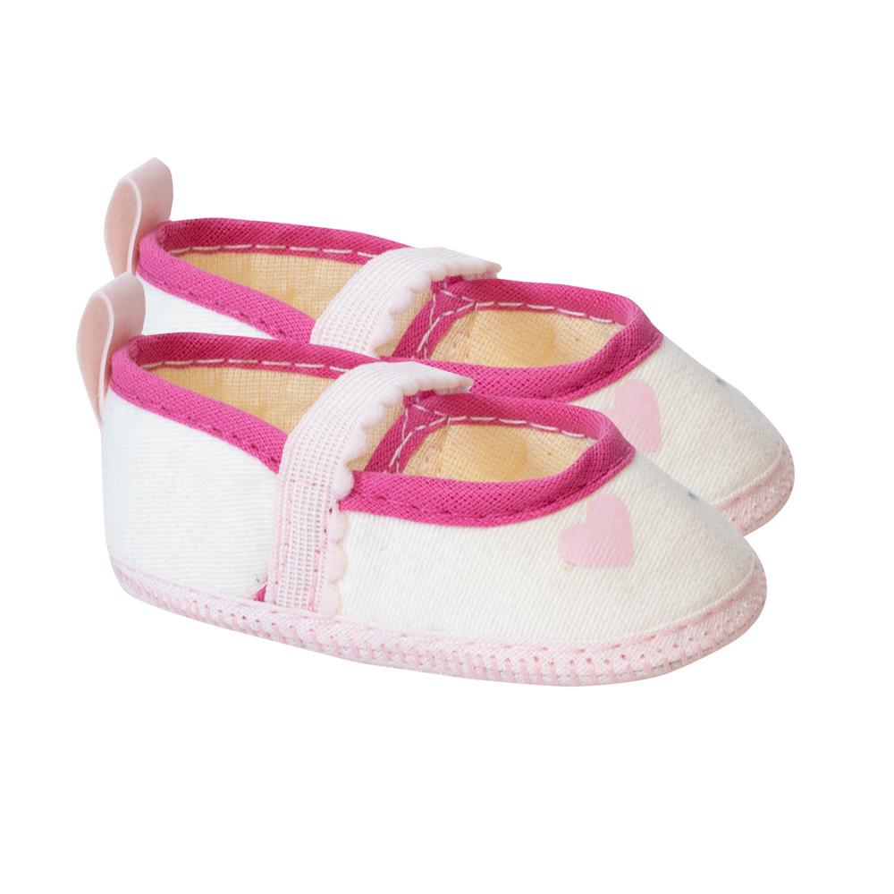 Sapatilha Bebê Pérola  - Jeito Infantil