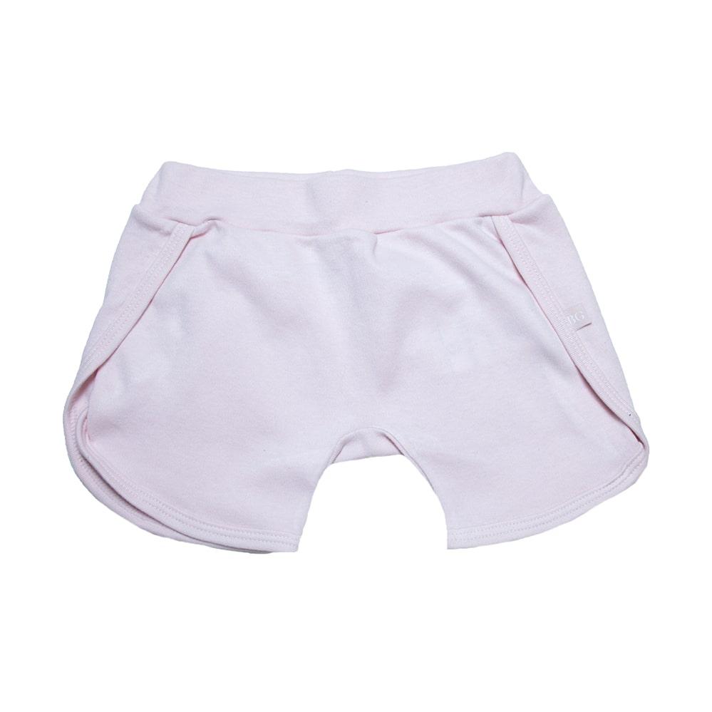 Shorts Bebê Rosa  - Jeito Infantil