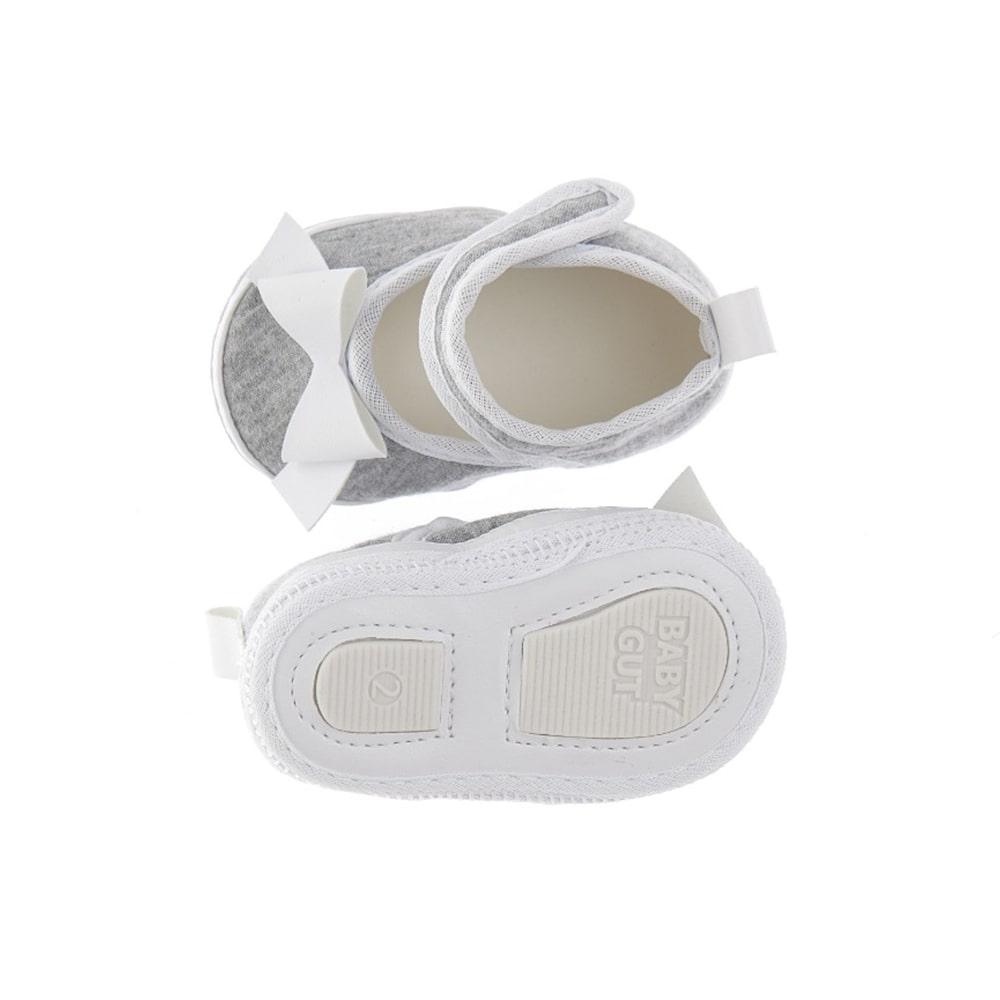 Tênis Bebê Com Velcro e Laço Mescla  - Jeito Infantil