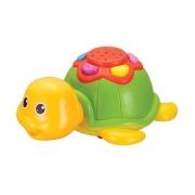 Brinquedo Baby Tartaruga Com Projecao