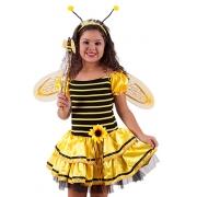 Fantasia infantil Carnaval Vest Abelha Jojo Com  Asa