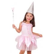 Fantasia Infantil Carnaval Fada Laila