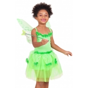 Fantasia infantil Carnaval Fada Tati Com Asa