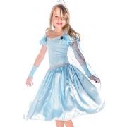 Fantasia infantil Carnaval  Princesa Glace