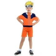 Fantasia infantil Naruto Curto