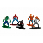 Bonecos Homem Aranha Marvel Pack Com 5 figura de 1,65 cm