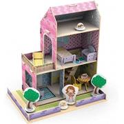 Casinha de Madeira para Montar Little House Verão - Xalingo