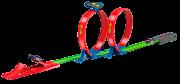 Pista Speedster Looping Duplo Com Carrinho