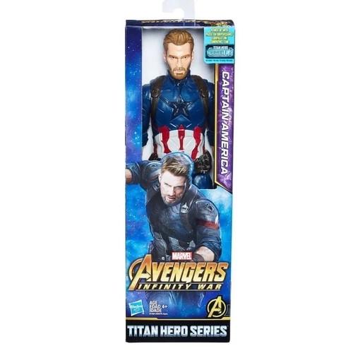 Avengers Figura 12 Titan Capitao America