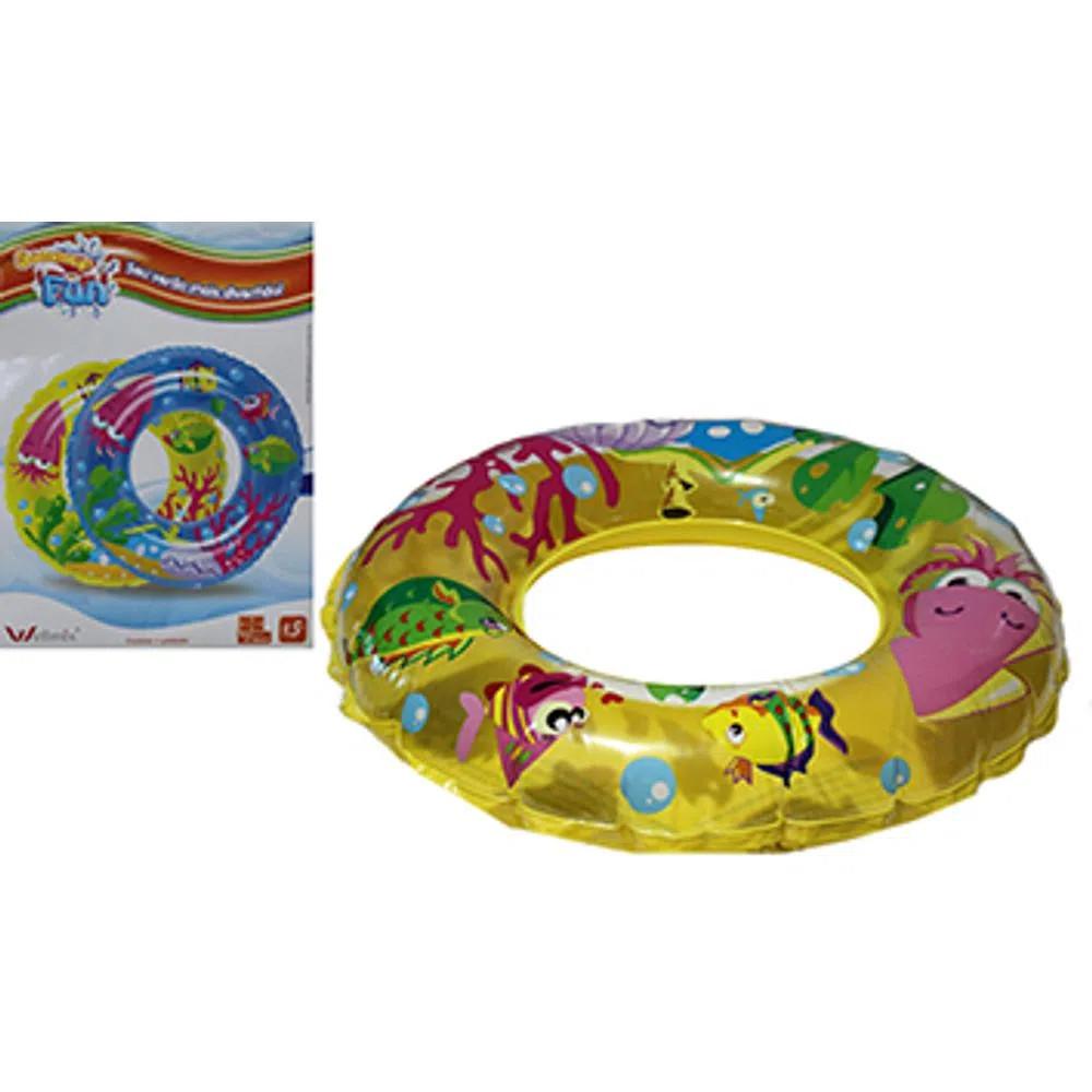 Boia infantil Circular Fundo Do Mar 60cm