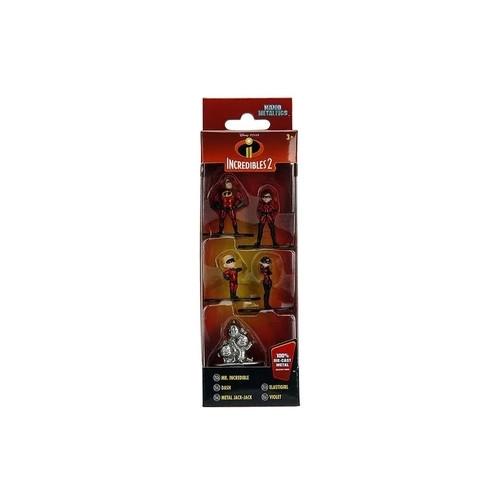 Bonecos colecionaveis Os Incriveis Pack Com 05 figuras