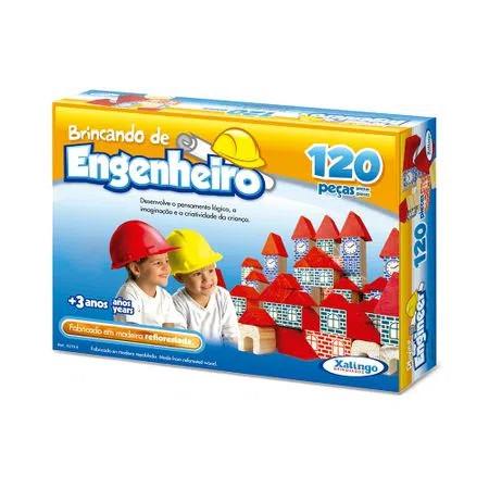 Brincando De Engenheiro 120 Pecas