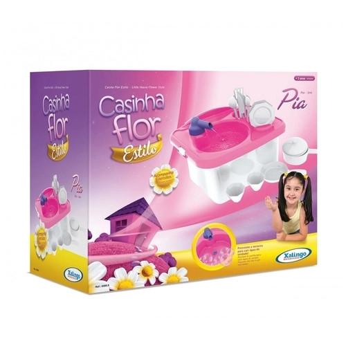 Brinquedo Pia Casinha Flor