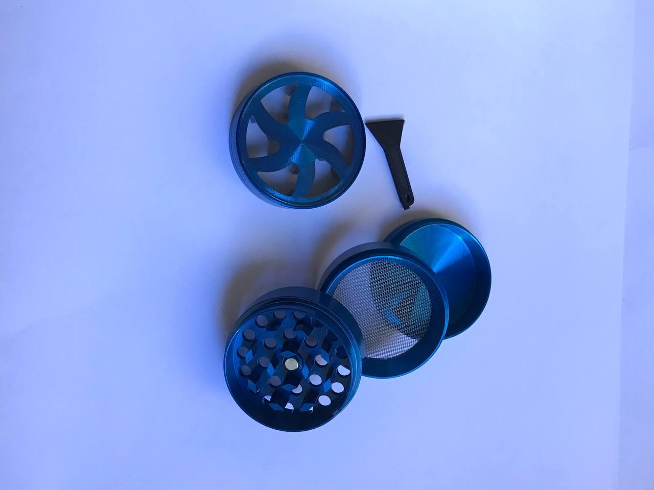 Dichavador de Metal 4 partes com visor