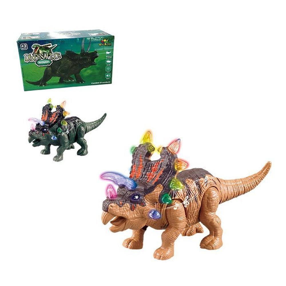 Dinossauro Triceraptor Com Som