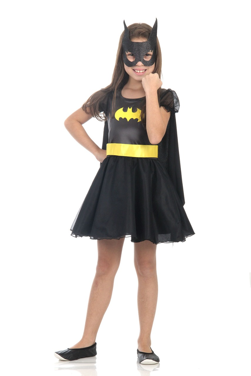 Fantasia Infantil Bat Girl Princesa