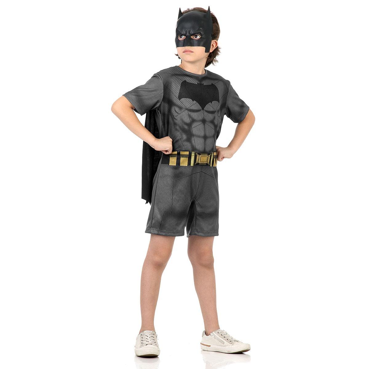 Fantasia Infantil Batman Curto