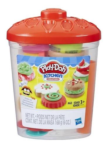 Conjunto Hasbro Play doh -  Pote De Biscoitos