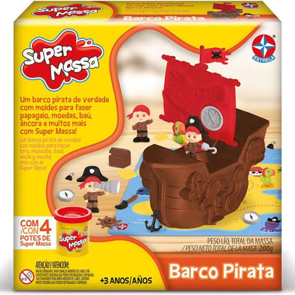 Massa de Modelar - Super Massa - Barco Pirata - Estrela