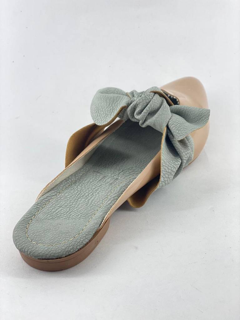 Mule Azul Água  sapato feminino em promocao