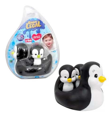 Banho Legal Pinguim Mãe for Baby