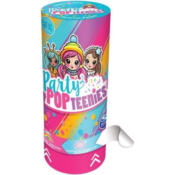 Poppers Party Pop Teenies Festa Surpresa - Mini Bonecas - Sunny