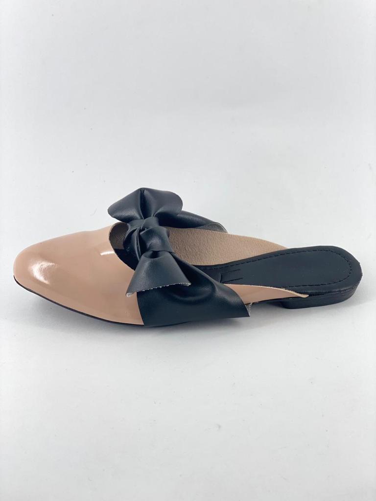 Sapatinha Rosa Claro com Preto   Sapato Feminino em Promocao