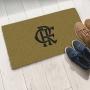 Tapete Capacho Flamengo Bege 40x60 cm