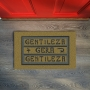 Tapete Capacho Gentileza Gera Gentileza... Bege 40x60 cm