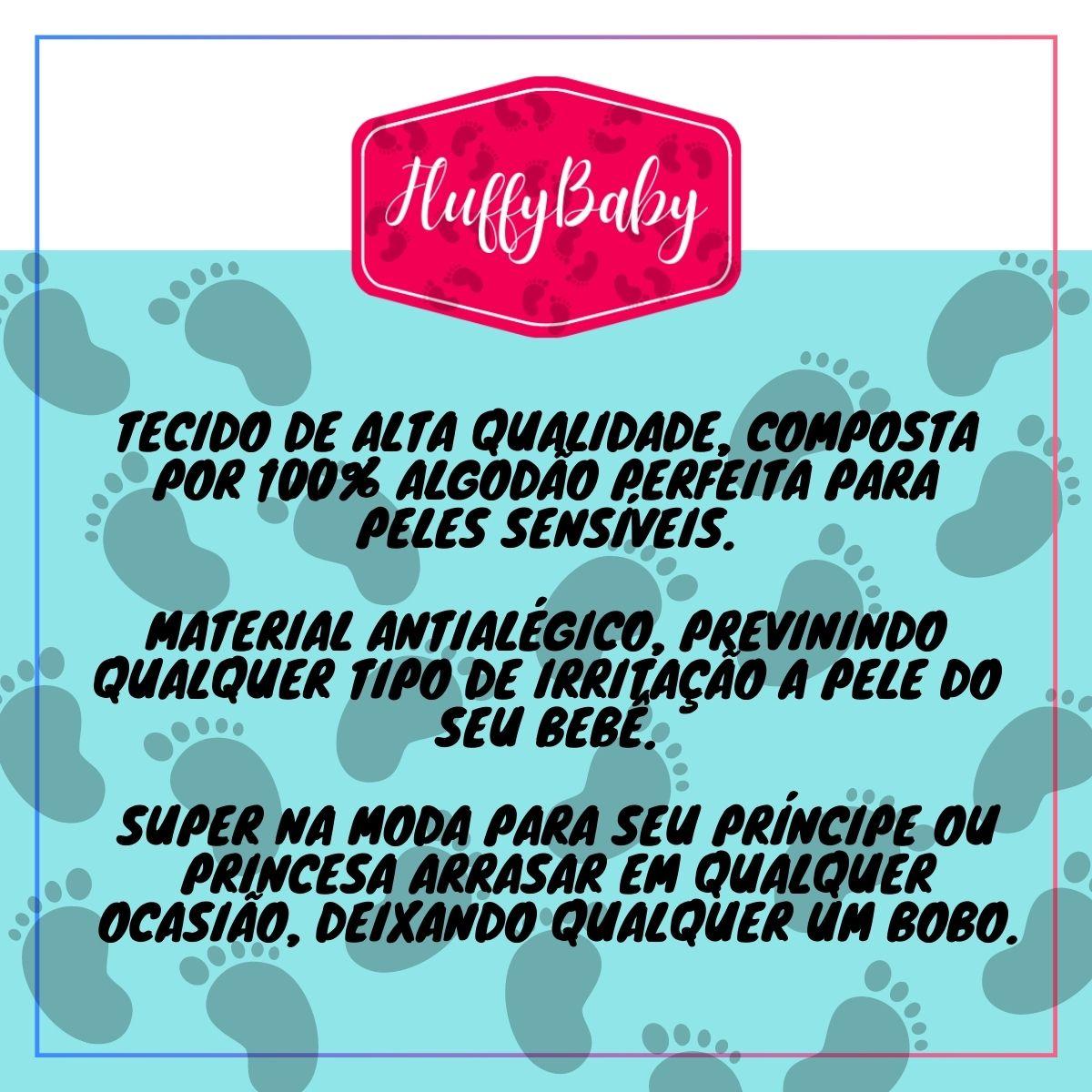Conjuntinho Kit 3 Peças Puro Carinho Rosa - Body, Mijão e Casaco