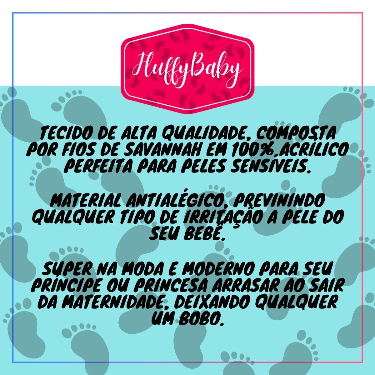 Kit 4 Bolsas Maternidade Azul Marinho - Mordern Mommy