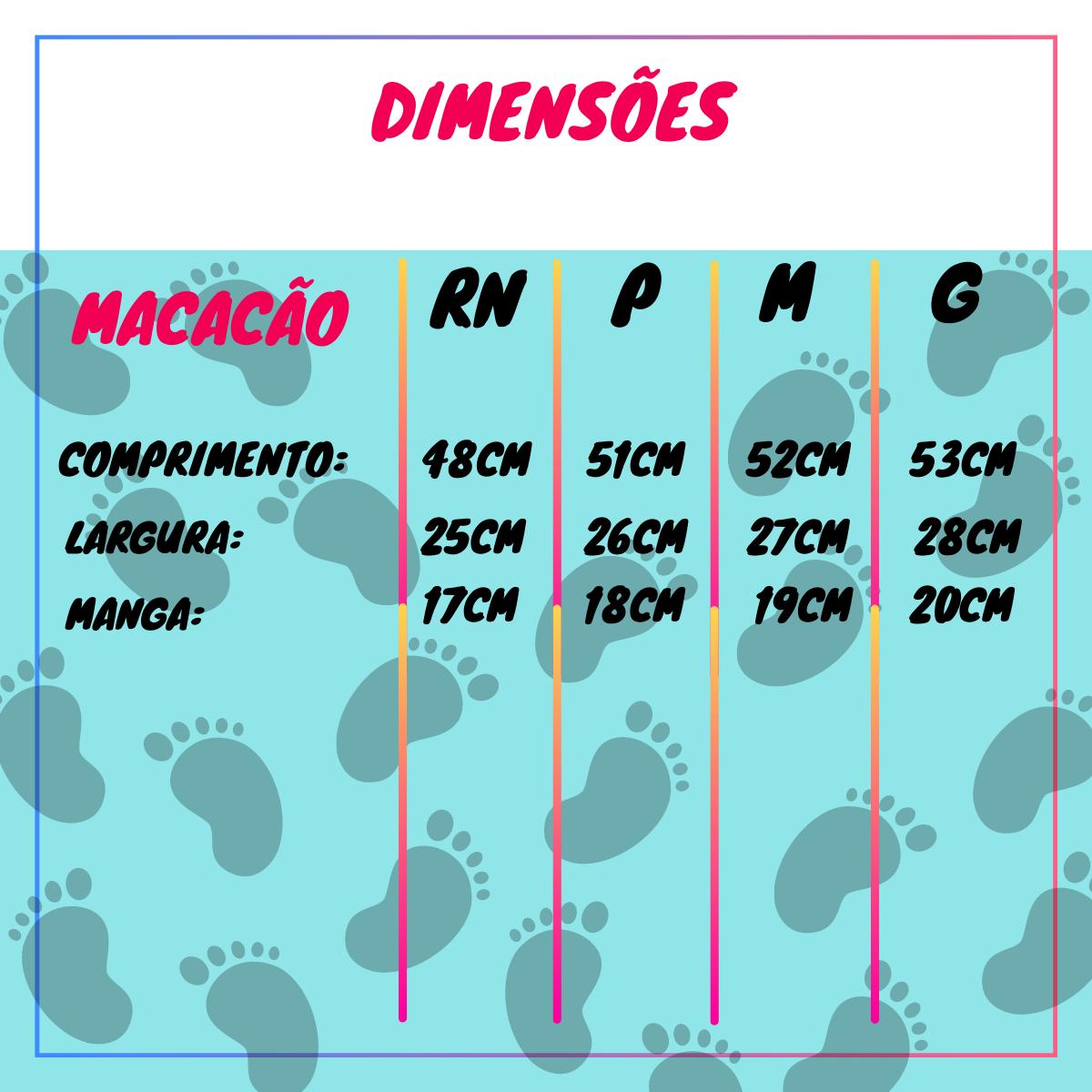 Macacão Dinossauro Vira Pé Bebê Recém-Nascido Com Zíper - Tecido Suedine 100% Algodão