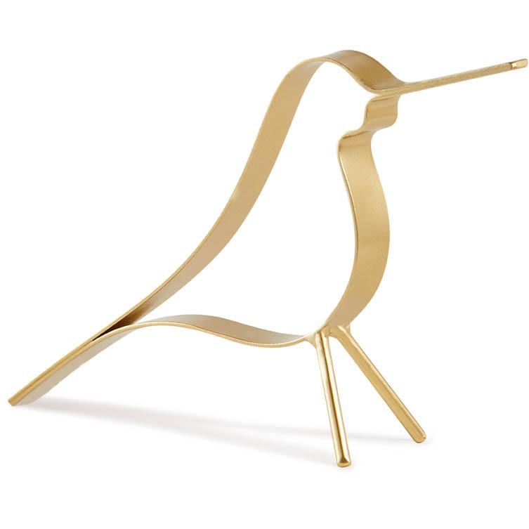 Escultura pássaro Dourado (P) Bond Street