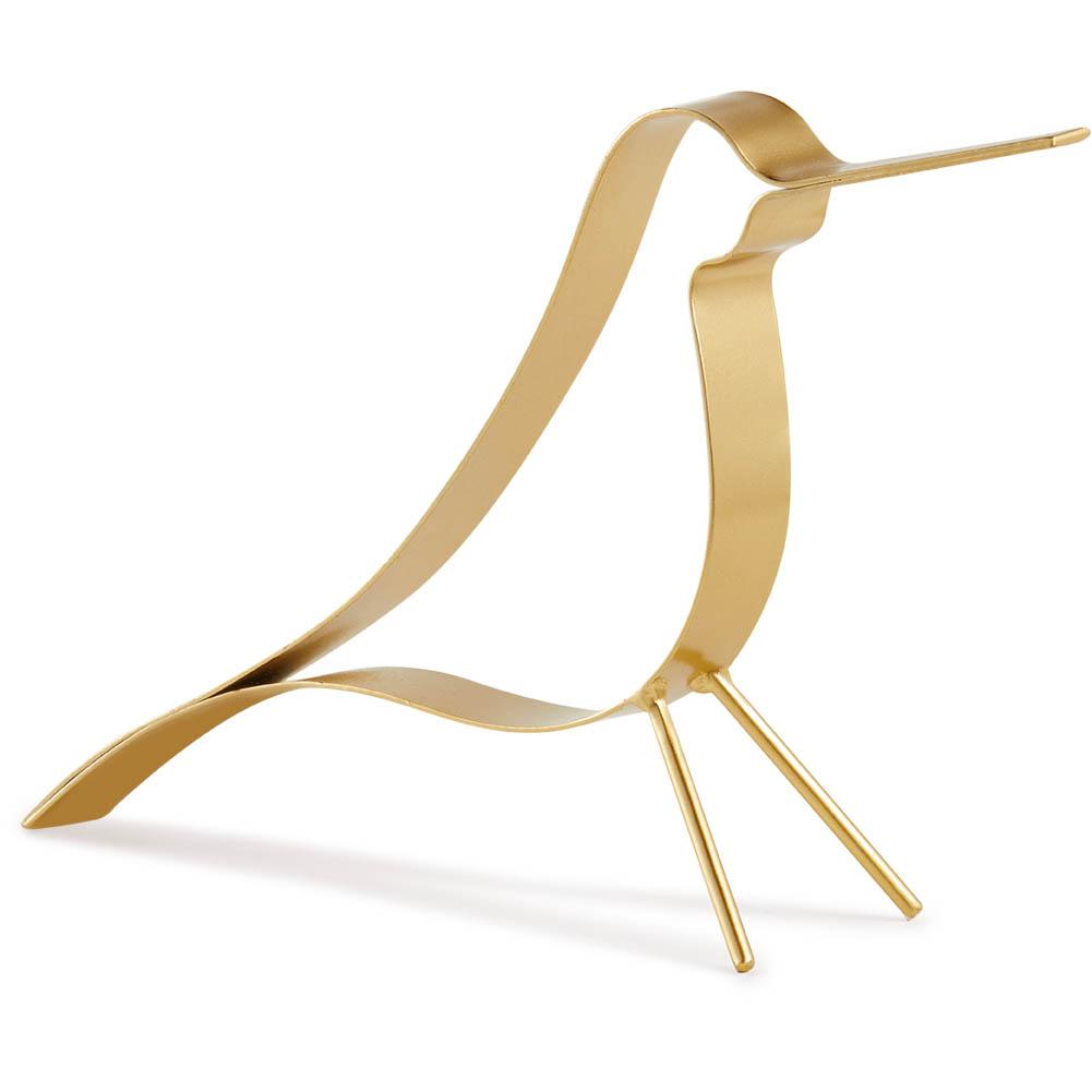 Escultura pássaro Dourado (G) Bond Street