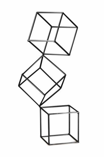 Escultura Quadrados Pretos Finchley Central