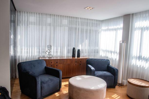 Tecido para cortina - Voil Branco - Preço por rolo fechado (cada rolo possui 50 metros por 3.0 metros de altura)