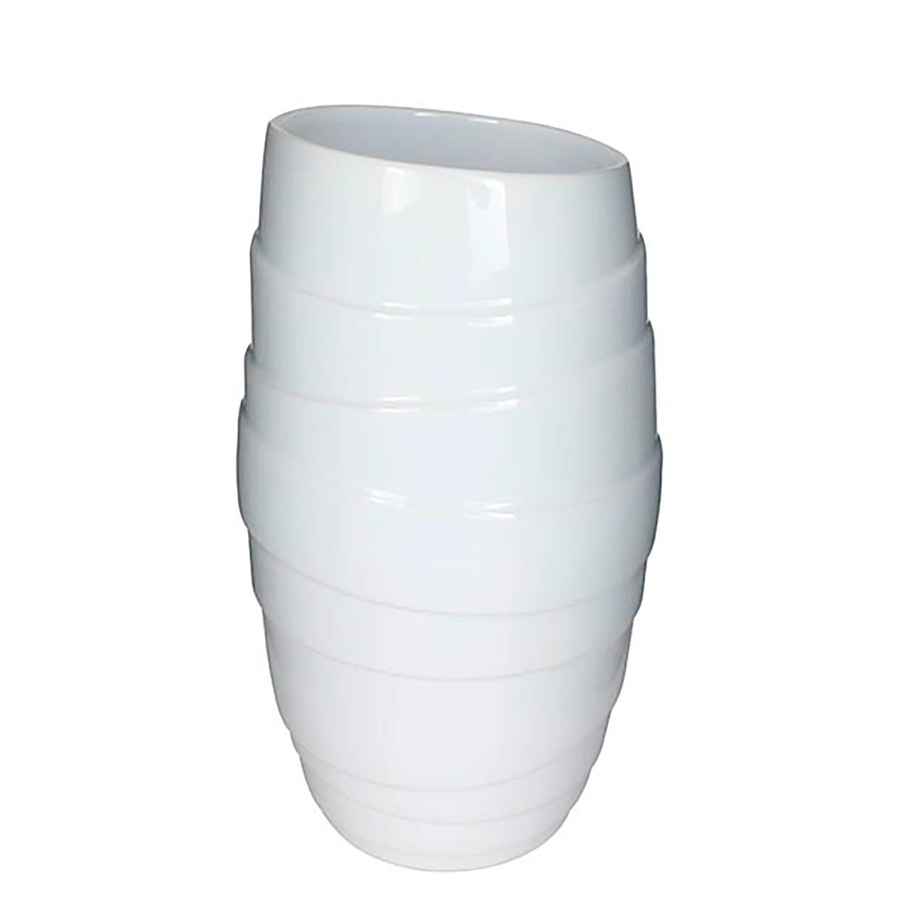 Vaso Balham Branco 32Cm