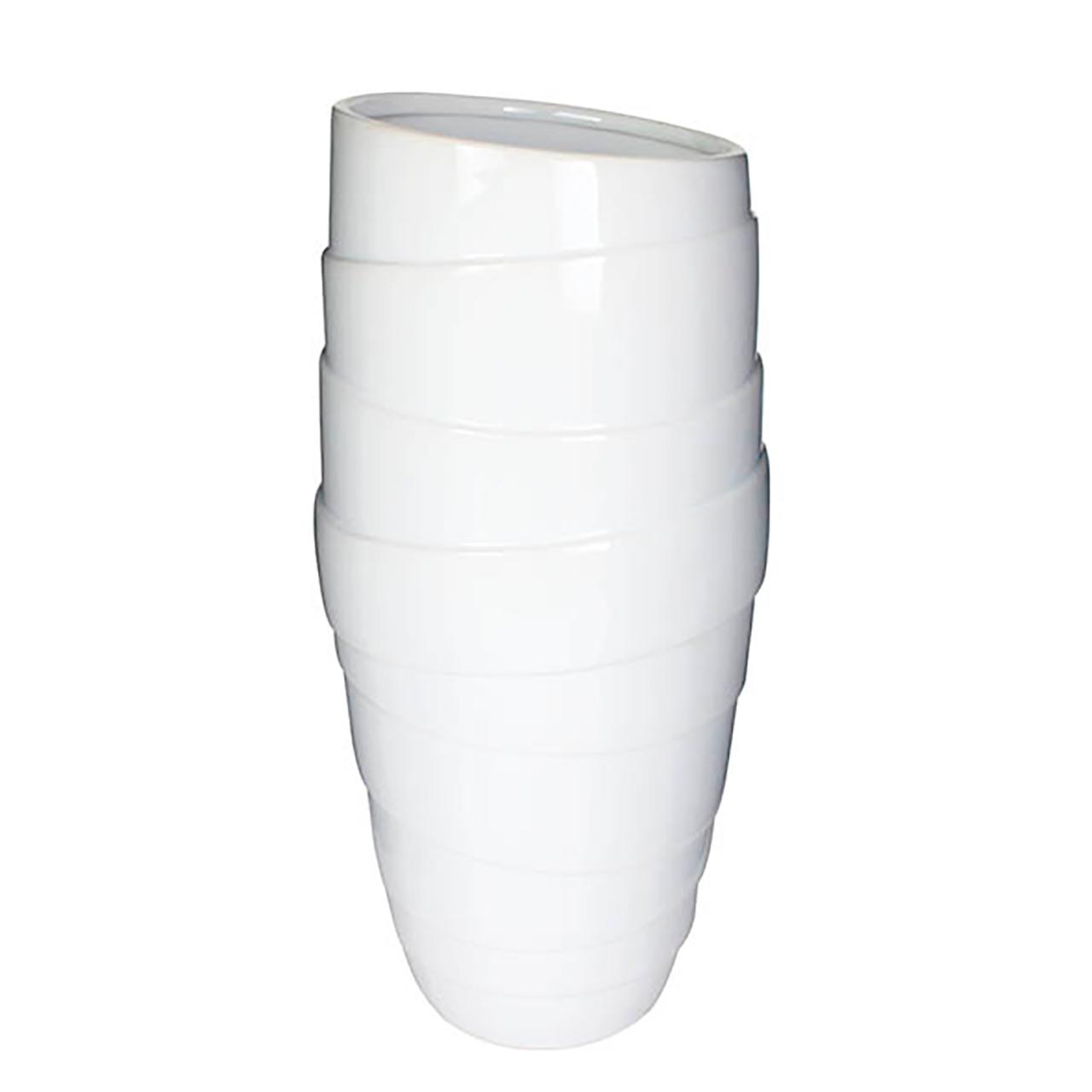 Vaso Balham Branco 43Cm