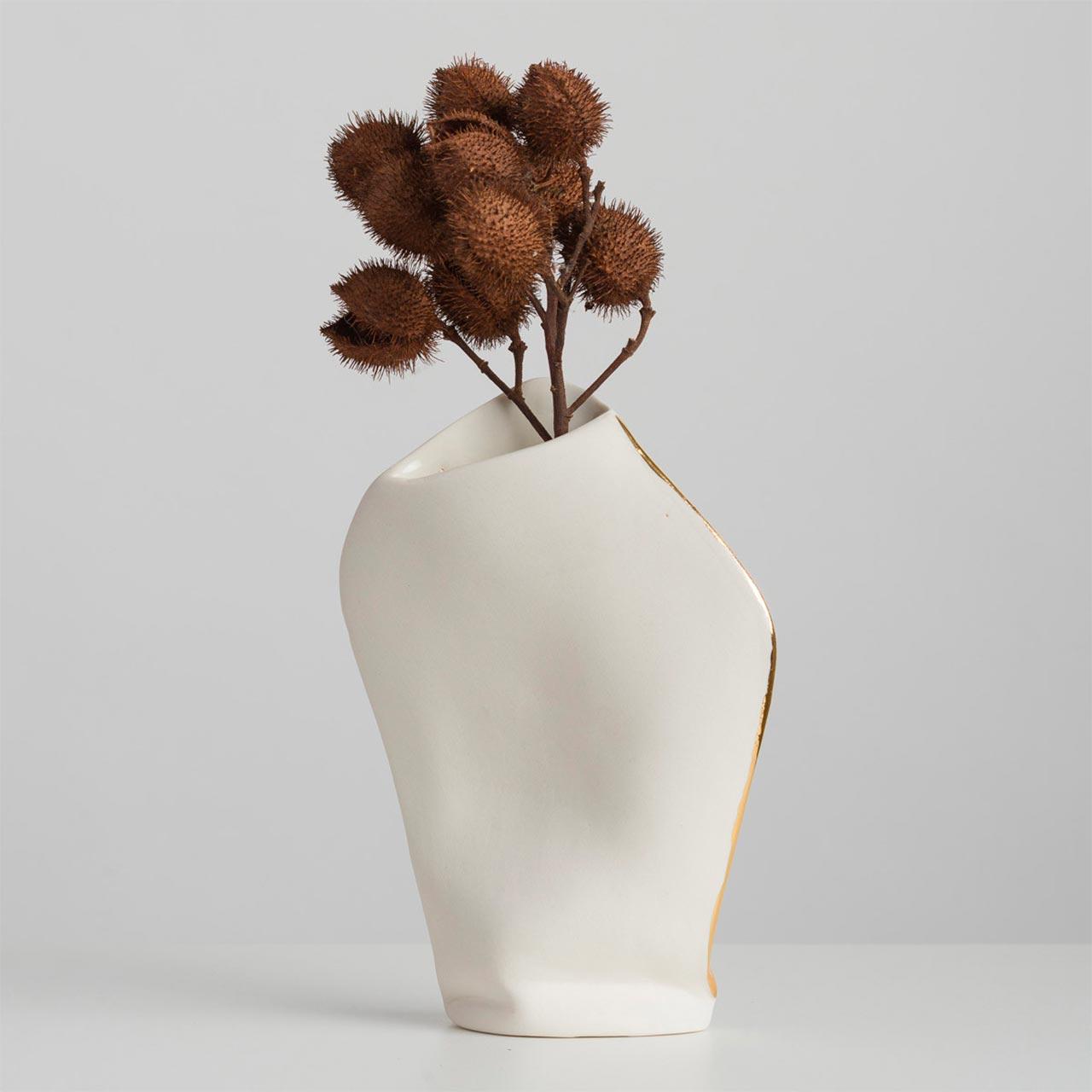 Vaso em Porcelana Canning Médio
