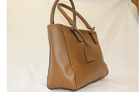 Shopping Bag Clássica em Material Sintético - Pontapé