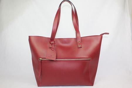 Shop bag zíper externo