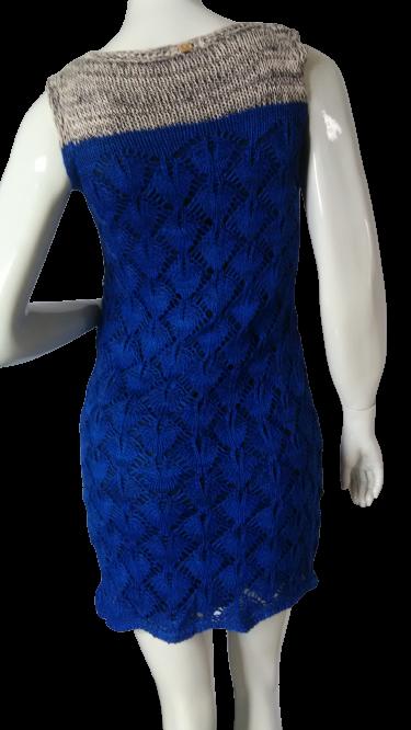 Vestido Azul curto