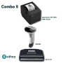 Kit SAT + Impressora + Leitor 2D (Epson e Zebra)