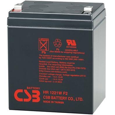 Baterias CSB VRLA 12V 5.1AH - HR1221W